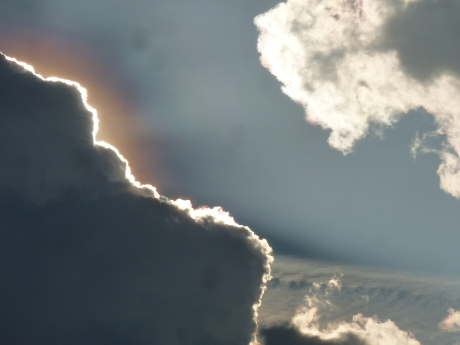 Look for the silver lining!